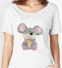 Maus mit Käse Women's Relaxed Fit T-Shirt
