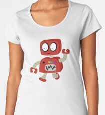 Robot Women's Premium T-Shirt