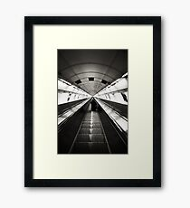 Descent Framed Print