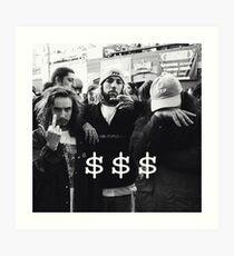 $$$ SUICIDEBOYS x POUYA Art Print