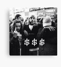 $$$ SUICIDEBOYS x POUYA Canvas Print