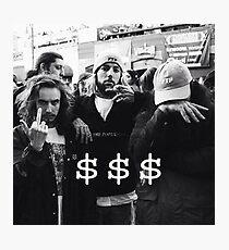$$$ SUICIDEBOYS x POUYA Photographic Print