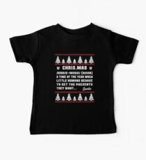 Funny Definition Of CHRISTMAS - Ugly Sweater Design Kids Clothes