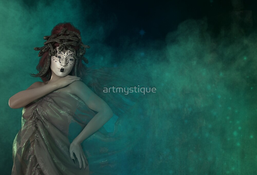 Nebula, a modern day Medusa by artmystique