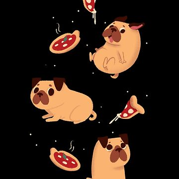 Pizza pug by elenapugger