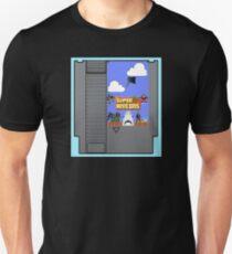 Super Movie Bros. 8 bit Game Cartridge  T-Shirt