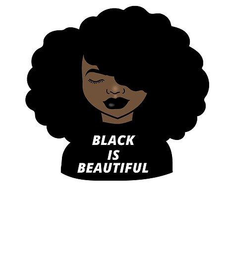Melanin Afro Woman Shades Drippin