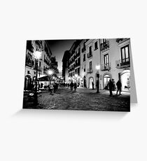 URBAN LANDSCAPE, ITALY Greeting Card