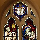 A Window of St Francis' Catholic Church, Melbourne Australia by Bev Pascoe