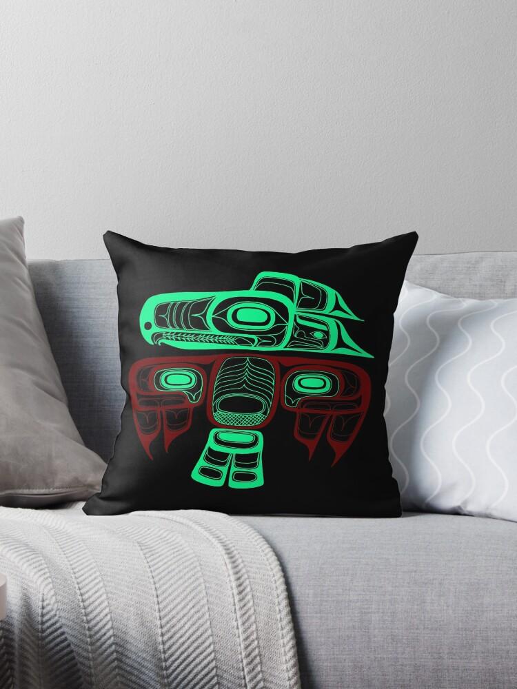 Native American Style Art: Tlingit thunderbird by aapshop