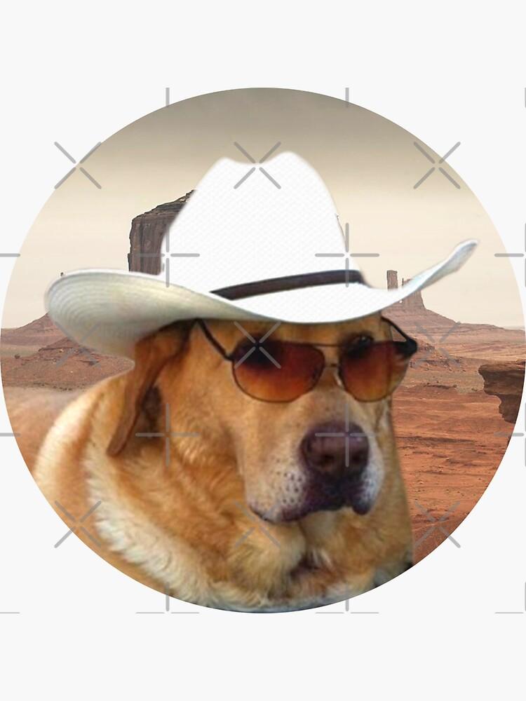 Pegatinas Doggo: Vaquero de Elisecv
