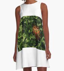 Fallen Russet A-Line Dress