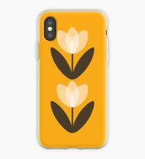 Tulip Phone Case in Mustard Yellow iPhone Case