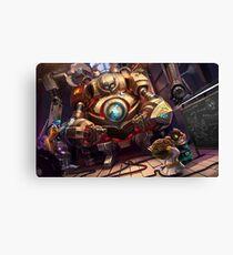 League of Legends - Blitzcrank Canvas Print