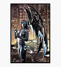 Robot Angel Painting 009 Photographic Print