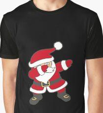 Dabbing Santa Graphic T-Shirt