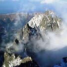 Fog touched mountain by Kasia  Kotlarska