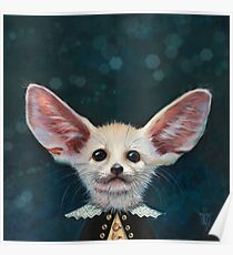 Basil Sneezewick The Young Fennec Fox Poster