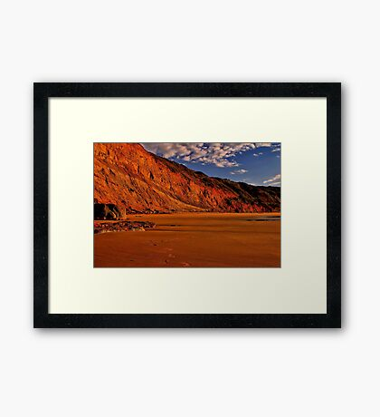 """Deserted at Dawn"" Framed Print"