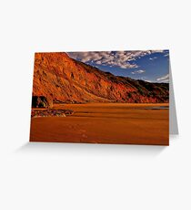 """Deserted at Dawn"" Greeting Card"