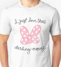 Love That Darling Mouse Unisex T-Shirt