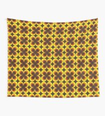 1960's - 1970's inspired retro pattern  Wall Tapestry
