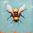 Bee Painting two by StressieCat