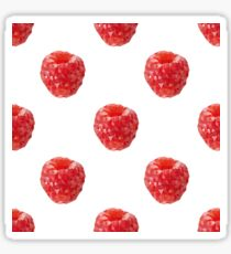 polygonal raspberry Sticker