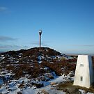 Danby Beacon in the snow by dougie1