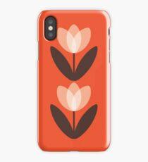 Tulip Phone Case in Coral Red iPhone Case/Skin