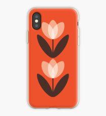 Tulip Phone Case in Coral Red iPhone Case