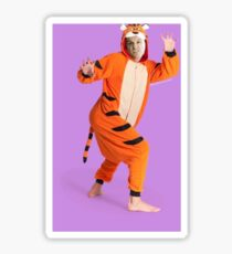 Jim Moriarty - Andrew Scott - Tiger Onesie Sticker