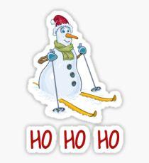 Merry Christmas HO HO HO Design Sticker