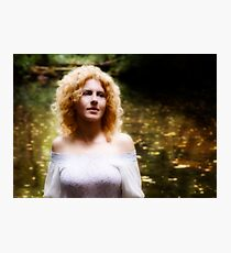 The Swan Maiden - detail Photographic Print