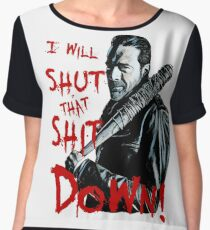 Negan Women's Chiffon Top