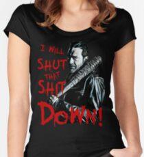 Negan Women's Fitted Scoop T-Shirt