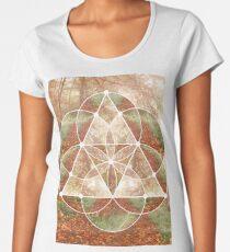 Woodland Abstract Women's Premium T-Shirt