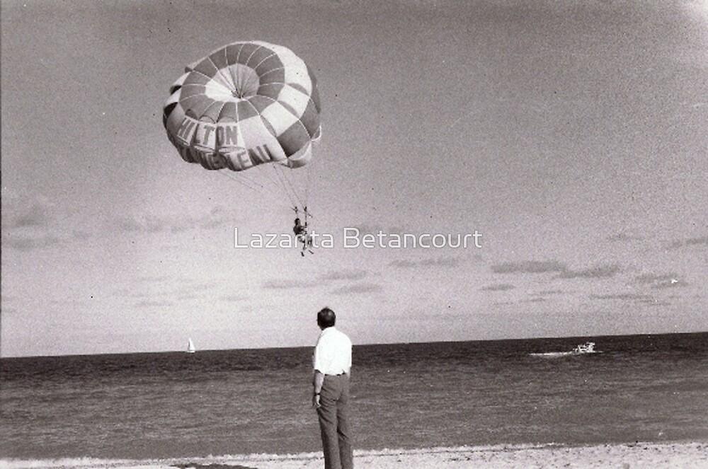 man on the Beach by Lazarita Betancourt