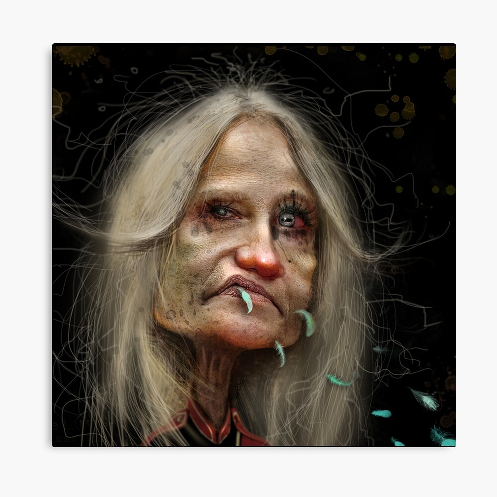 The Duchess of Nothing in Particular (Kellyanne Conway) Canvas Print