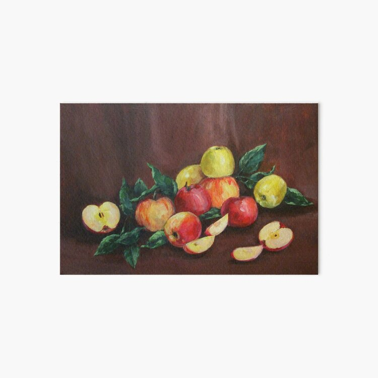 Apples Art Board Print