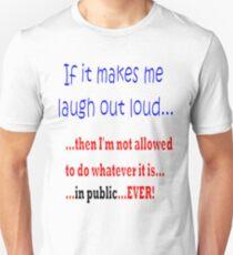 Camiseta unisex Prohibited