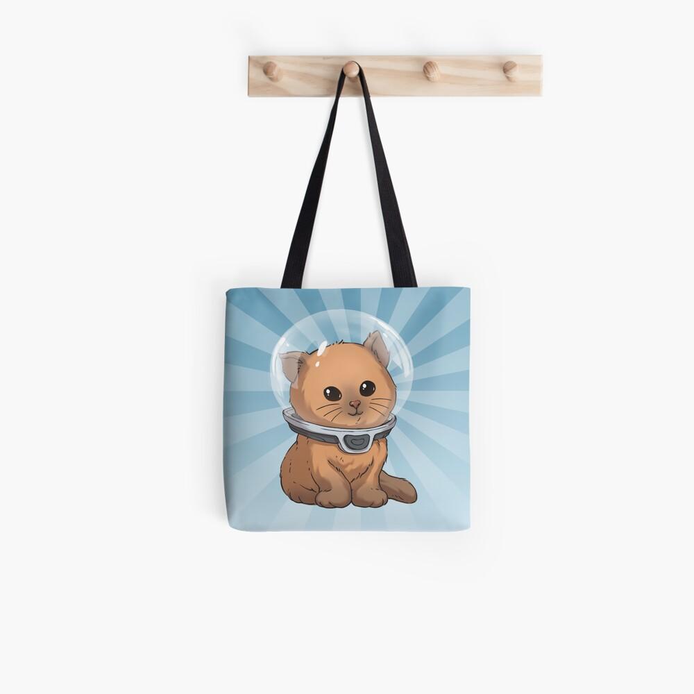 Keep Calm Kitty Tote Bag