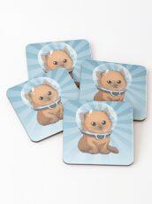 Keep Calm Kitty Coasters