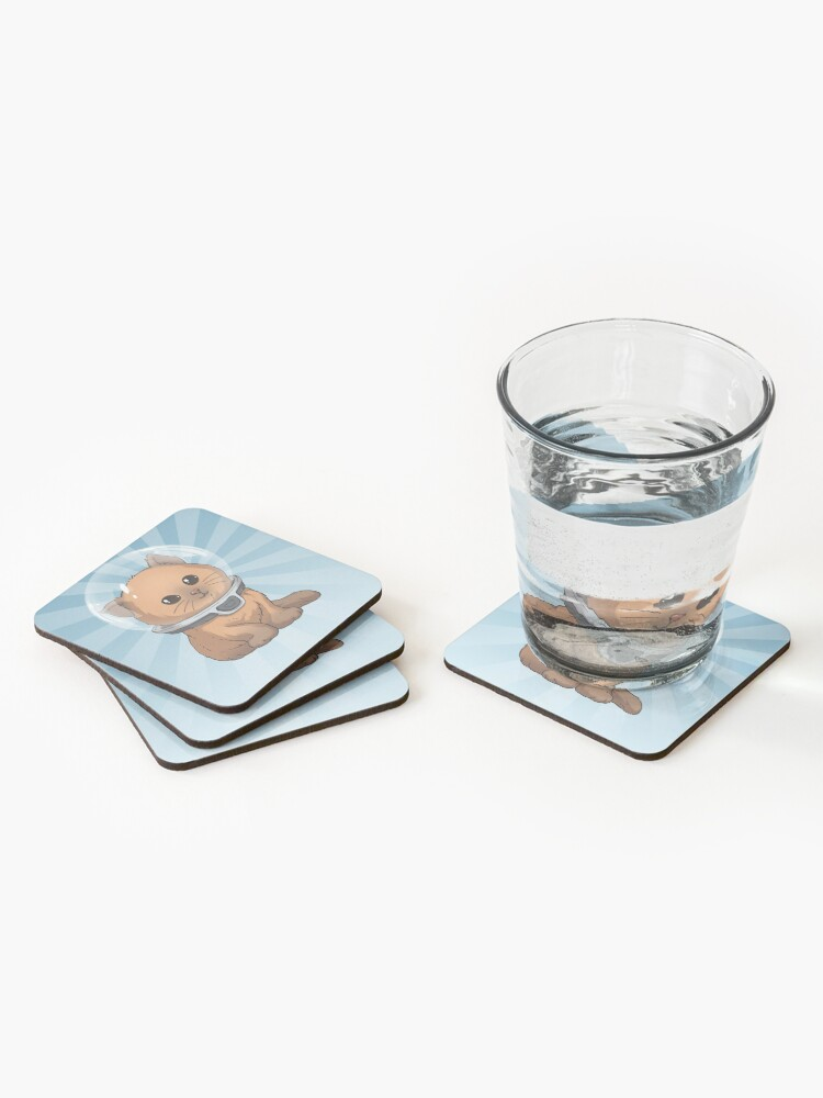 Alternate view of Keep Calm Kitty Coasters (Set of 4)