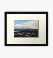 Isle of Arran in Winter Framed Print