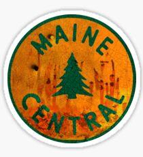 Maine Central Railway USA Sticker