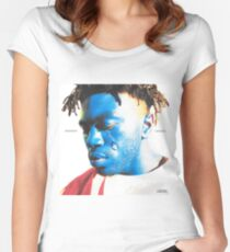 Saturation III Album Cover Women's Fitted Scoop T-Shirt