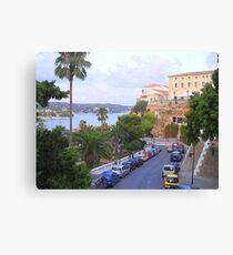 Mahon.....................................Menorca Canvas Print