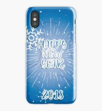 8New Year Christmas winter holidays  iPhone Case/Skin
