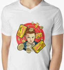 Stranger Things Eleven / Waffles Men's V-Neck T-Shirt